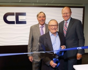 Firm cuts ribbon on remodeled office space