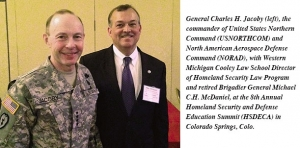 McDaniel moderates discussions at Homeland Security Defense Education Summit Oct. 9