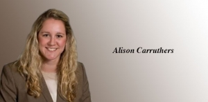 Thursday Profile: Alison Carruthers