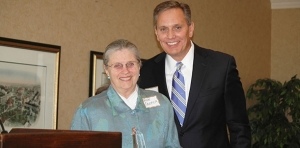 Ann Cooper honored for work with 3Rs program, and years of service to GRBA