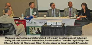 First annual meeting of Marijuana Law Section is lively, informative