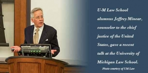 Speaker gives insight into Chief Justice's responsibilities
