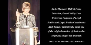 Groundbreaking local female attorney finds place in state Women's Hall of Fame