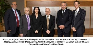Award-winning attorneys present trial advocacy lecture at Wayne Law