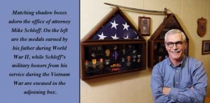 War torn: Vietnam veteran featured in a PBS clip of 'Letters Home Project'