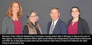 Redistricting panel members share experiences