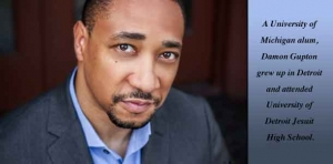 Detroit native Damon Gupton counts his many blessings as an actor/musician