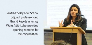 WMU-Cooley Law School's Grand Rapids campus held honors convocation March 23