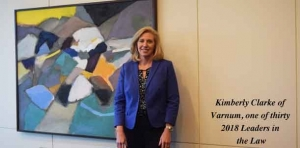 Varnum attorney Kimberly Clarke named a statewide Leader in the Law