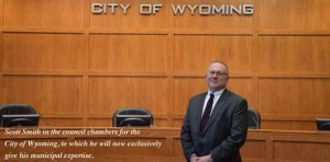 Smith's municipal expertise will now benefit City of Wyoming