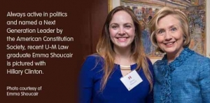 Next Generation Leader: U-M Law graduate honored by Constitution Society