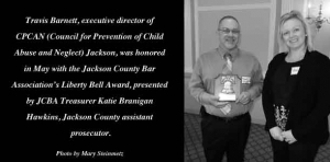 Award-winner: Executive director spearheads efforts to prevent child abuse