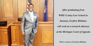 Success story: Recent graduate to work at state appellate court