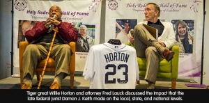 Hit parade: Former Tiger and attorneys knock it 'out of the park'
