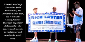 Youth Sports Camp renamed in honor of former county probation supervisor