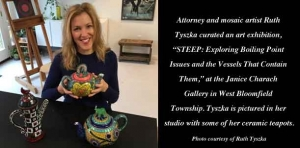 'Boiling point': Attorney/artist creates beautiful ceramic teapots