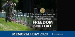Honoring heroes: Legion offers a Memorial Day salute to America's fallen veterans