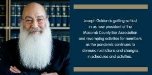 Golden year: Attorney embraces new legal role amid challenging times