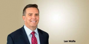 Len Wolfe commences term as  Dykema chairman and CEO