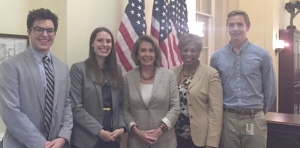 Political passion: Law student interned for Congresswoman